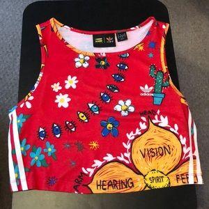 Adidas original/Pharrell Williams crop top